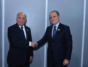 Ceyhun Bayramov və Fuad Hüseyn