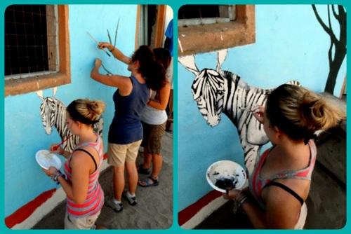 Casey and the Zebra