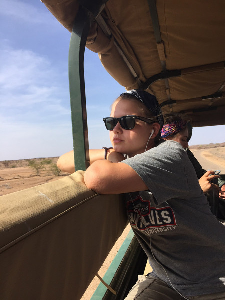 On the ride back to camp. Rachel daydreams and imagines what life was like for humans in the Turkana Basin during the Holocene lake highstands...