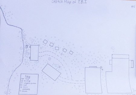 Sketch map of TBI - Turkwel