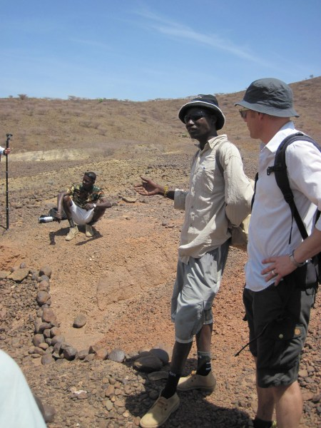 Fossil hunter, John Ekusi, describes the excavation that he was involved in that uncovered a Miocene ape.
