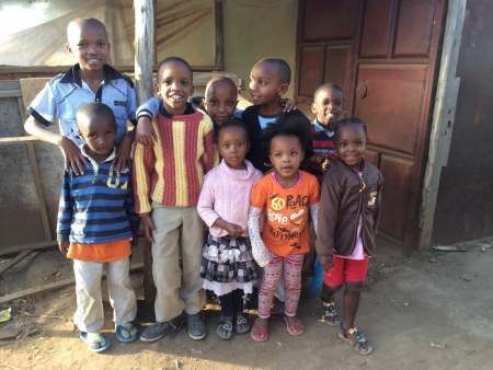 Local kids at the nearby shop loved having their pictures taken.