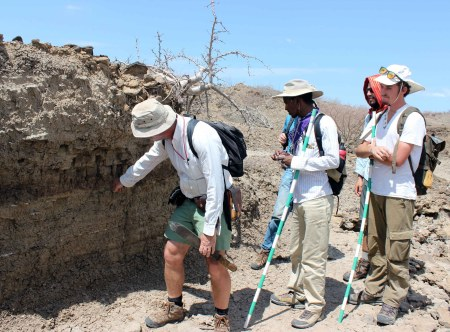 Prof. Feibel discusses the changes in environments through time in the area where KNM-ER 1470 was discovered.