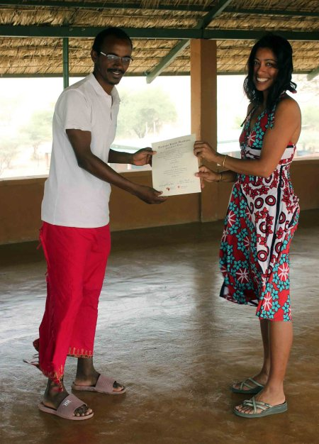 Congratulations Yemane!