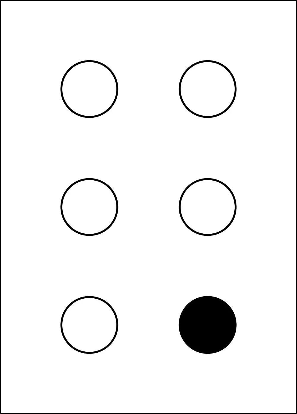 Braille Alfabesi anlamı ve hakkında bilgi