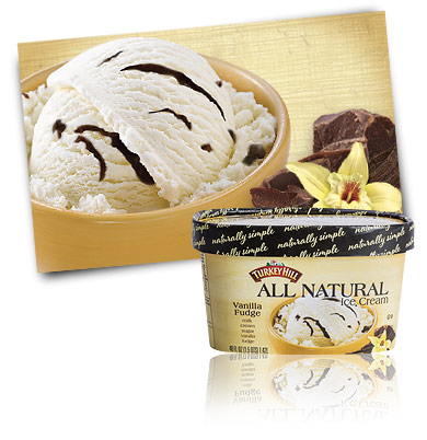 Turkey Hill Dairy Vanilla Fudge