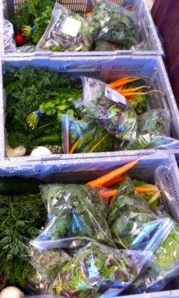 Packing the CSA boxes, week 6.