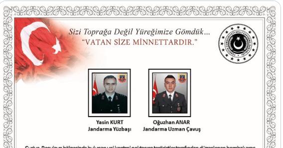 مقتل جندييين أتراك
