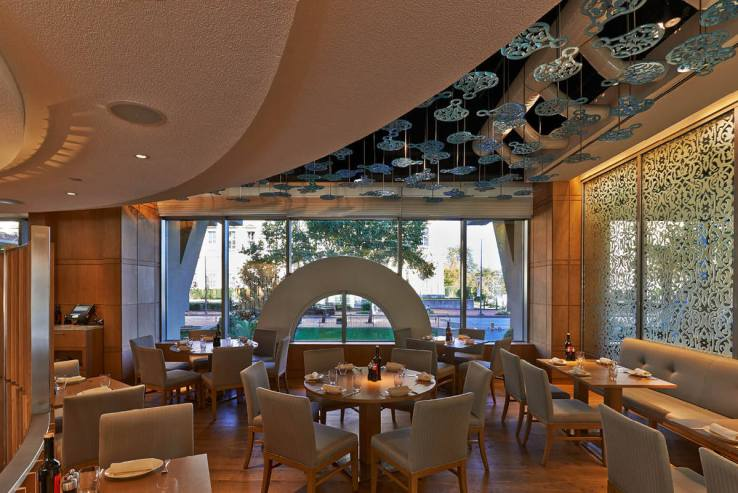 34 at Grand Hyatt Istanbul - Restaurant | ml studio, inc | Archinect