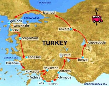 خريطة تركيا بالعربي توضح جميع المدن و خربطة اسطنبول