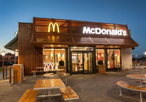 McDonalds Drive Thru Restaurant  The Outlet  Turkington Holdings Ltd