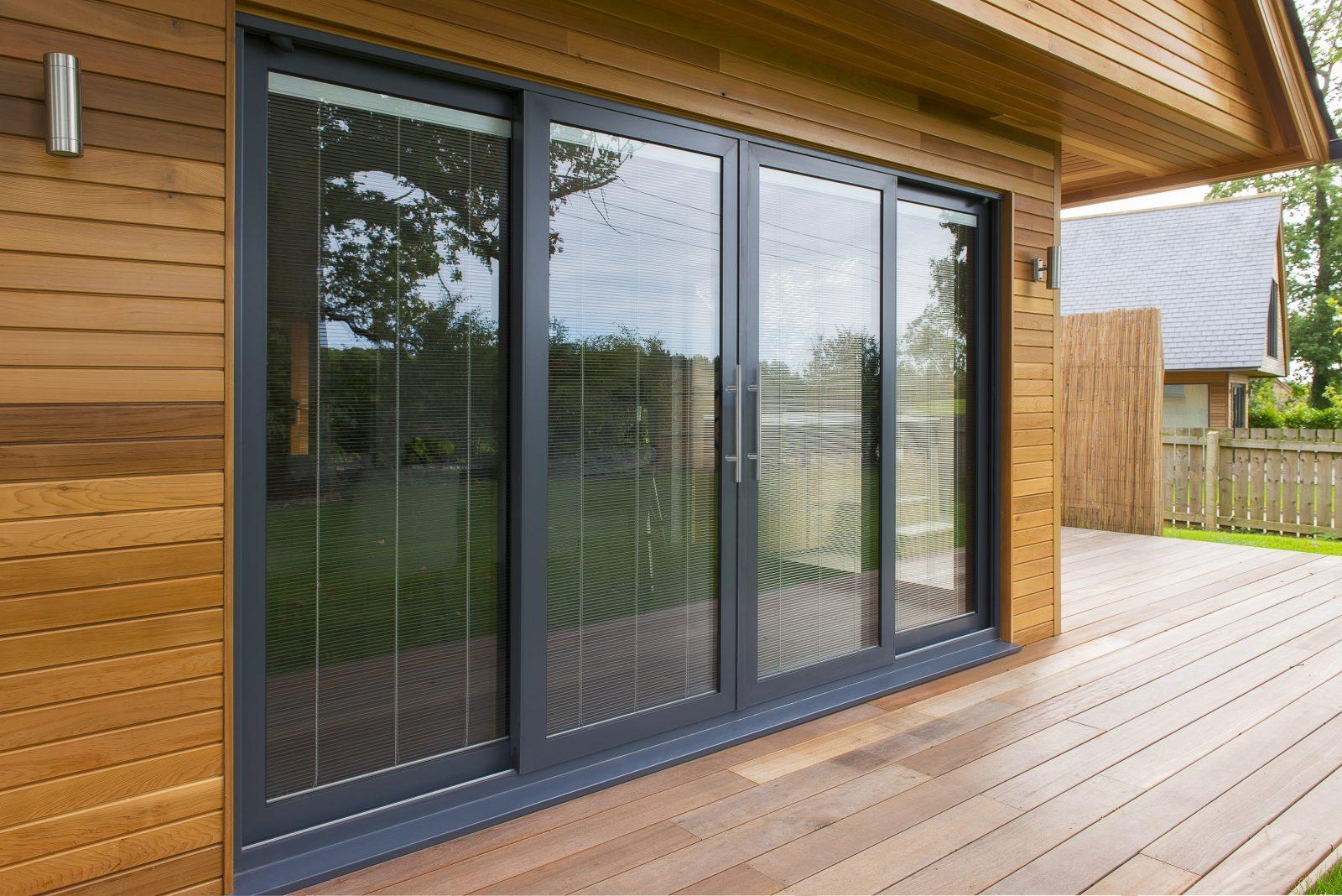 Aluminium Sliding Patio Doors  Turkington Windows  Conservatories