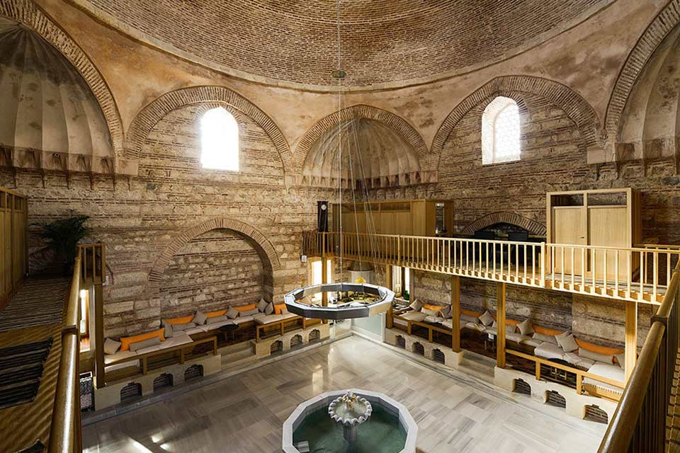 Historical baths of Istanbul