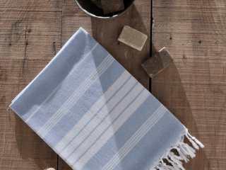 turkish pestemal towel striped 2