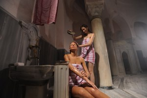 What happens in a Turkish bath