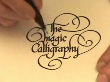 YouTube - The Magic Calligraphy 005
