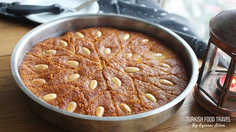 "Turkish Semolina Cake With Syrup ""Sambali"""