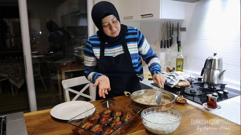 Eggplant Lover's Turkish Online Cooking Class""