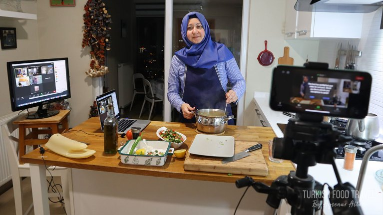 Online Turkish Cooking Class January 2020