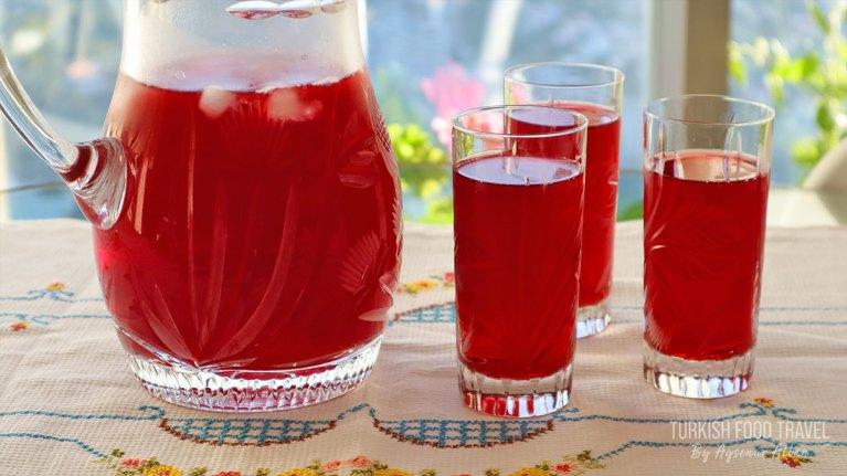 Turkish / Ottoman Sherbet Fruit Drink