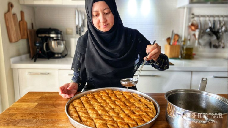 How To Make Baklava From Scratch!