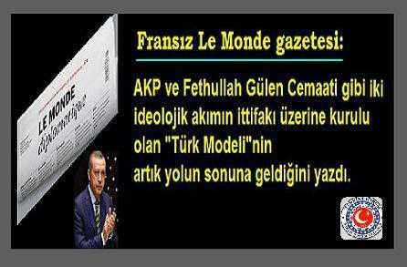 Le Monde:'Türk Modeli Yolun Sonuna Geldi'