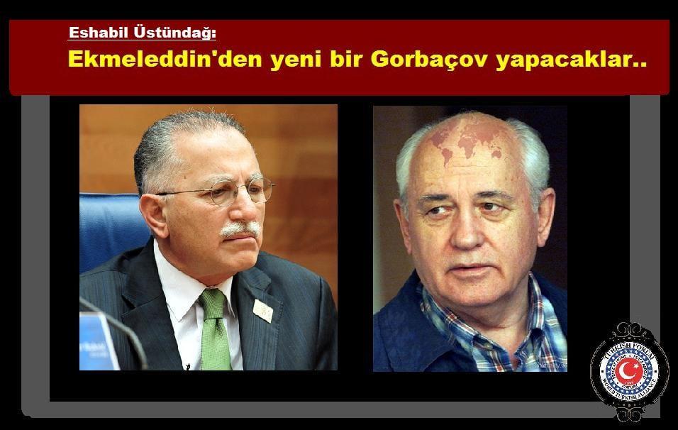 Ekmeleddin İhsanoğlu - Gorbaçov