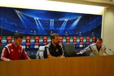 Beşiktaş basın toplantısı