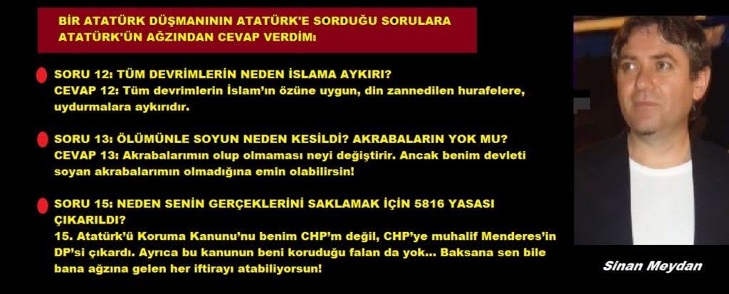 Sinan Meydan1 Bir Atatürk Düşmaninin Atatürke Sorduğu Sorulara