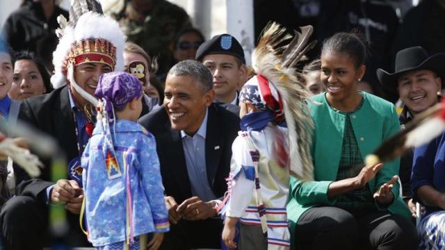 Kızılderili Dostlarımız ve Obama