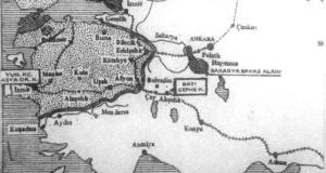 Trakya'nın tamamı ile Anadolu'da Balıkesir-Bursa-Eskişehir-Afyon ve İzmir Yunanistan'ın, Boğazlarla İstanbul İtilaf Devletlerinin işgali altında