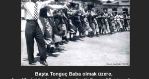 İsmail Hakkı Tonguç arşivi: yönetici, öğretmen, öğrenci halay çekerken