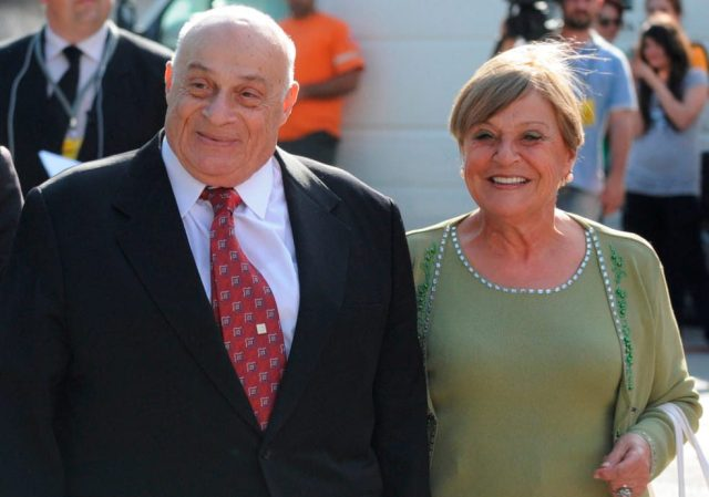 Rauf Raif Denktaş ve eşi Aydın Denktaş