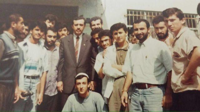 Yıl:1989 Cumhurbaşkanı Erdoğan, Bülent Yıldırım ve MGV'li gençler...