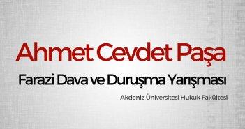 Ahmet Cevdet Paşa Farazi Dava ve Duruşma Yarışması