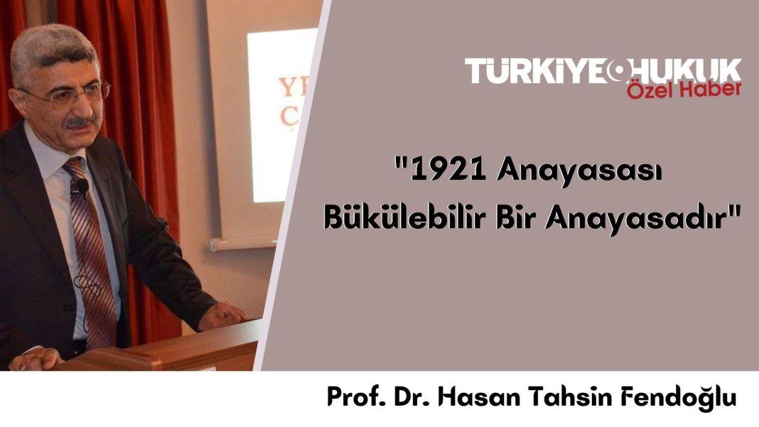 Prof.Dr. Hasan Tahsin Fendoğlu