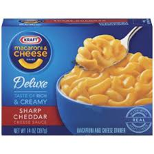 Kraft Mac Cheese Deluxe Sharp Cheddar Pasta Turks And Caicos Grocery Delivery Turks And Caicos Grocery Delivery Tci Online Food Store