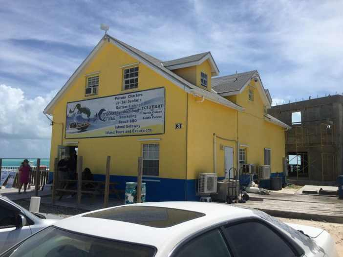 Ferry Terminal in North Caicos