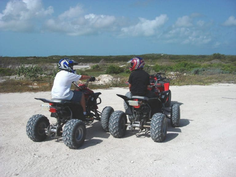 ATVs from Froggie's Ultimate Tours, Provo, Turks and Caicos