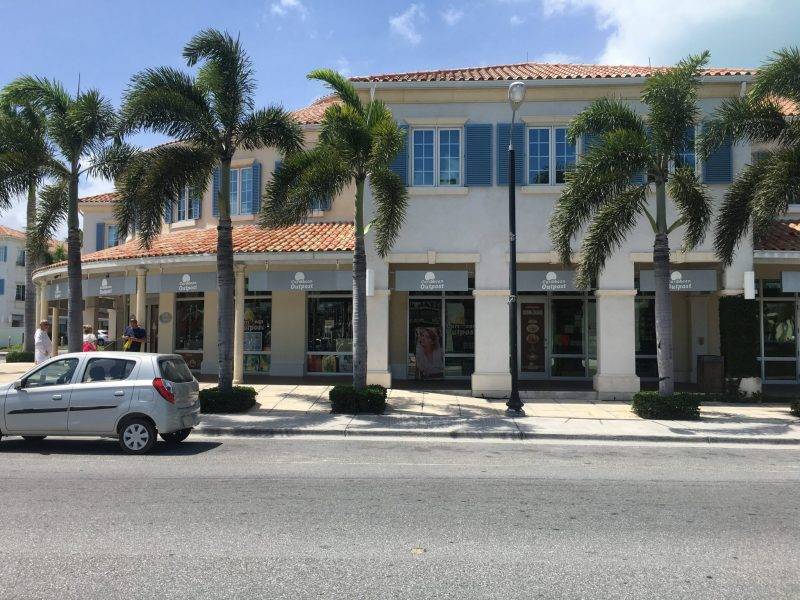 Shopping area in Provo, Turks and Caicos