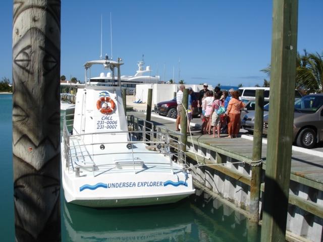 Undersea Explorer mini Sub on Provo, TCI