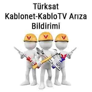 Türksat Kablonet Arıza Bildirimi