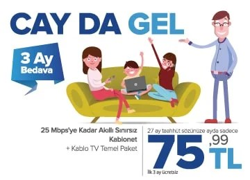 kablonet ve kablo tv kampanyası