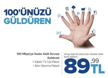 kablonet internet yüz güldüren kampanya