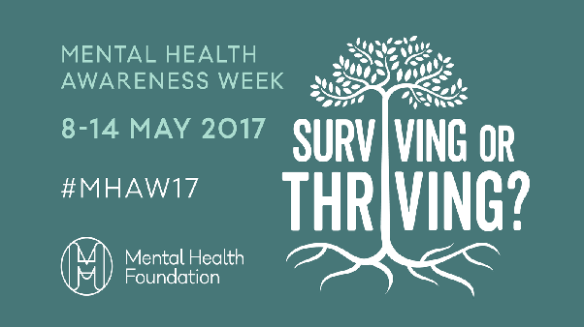 Mental Health Awareness Week poster from the Mental Health Foundation