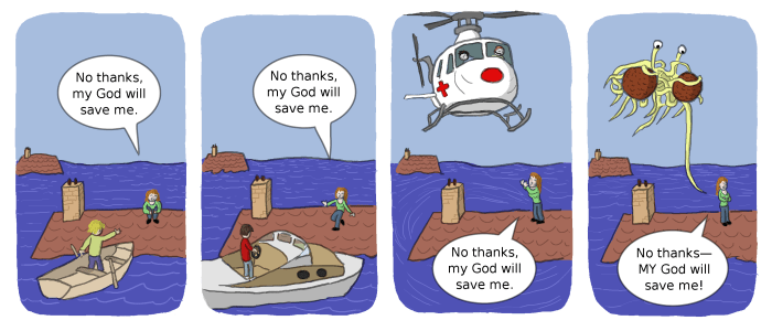 Jokes : God Will Save Me
