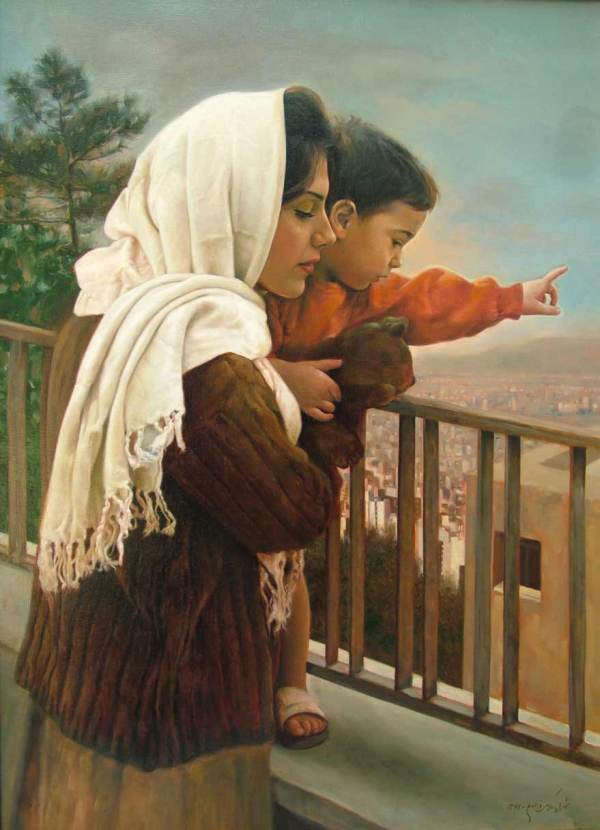 Love Mother Paintings