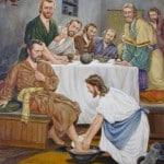 Jesus washing feet 06
