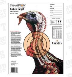 diagram wild turkey archery shooting [ 1000 x 1000 Pixel ]