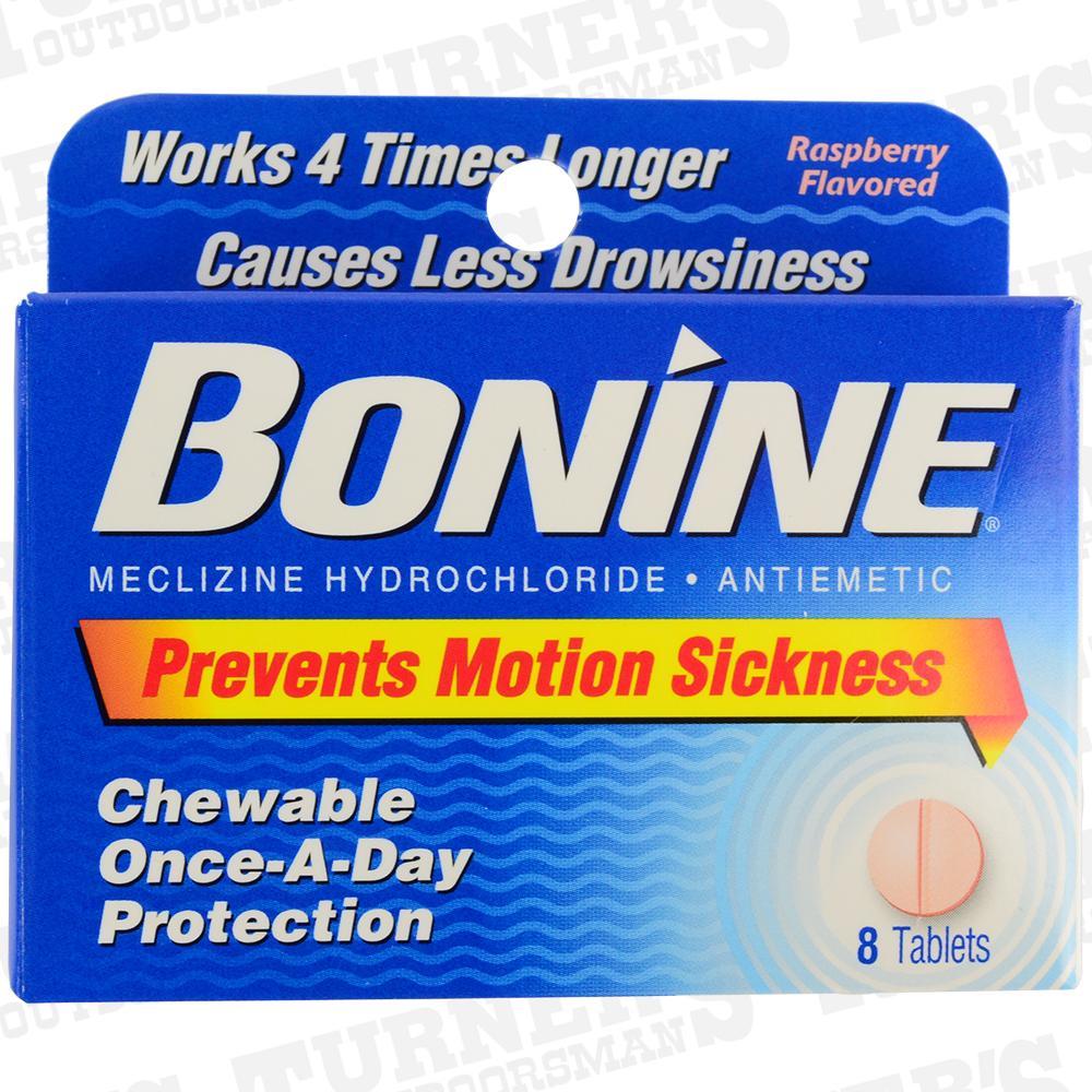 Bonine Sea Sickness Tablets   Turner's Outdoorsman